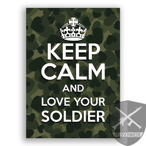 """Love Your Soldier"" Postkarte hier online kaufen"