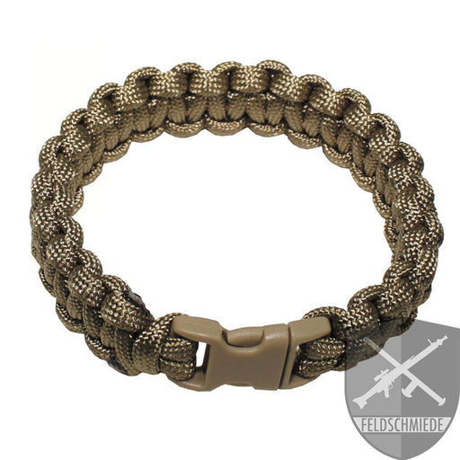 """Paracord"" Bundeswehr Armband coyote online kaufen"
