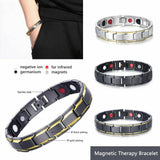 BUY 1 TAKE 1 MAGNETIC THERAPY HEALING BRACELET - FREE Messenger Bag and Wallet | FREE SHIPPING AND CASH ON DELIVERY