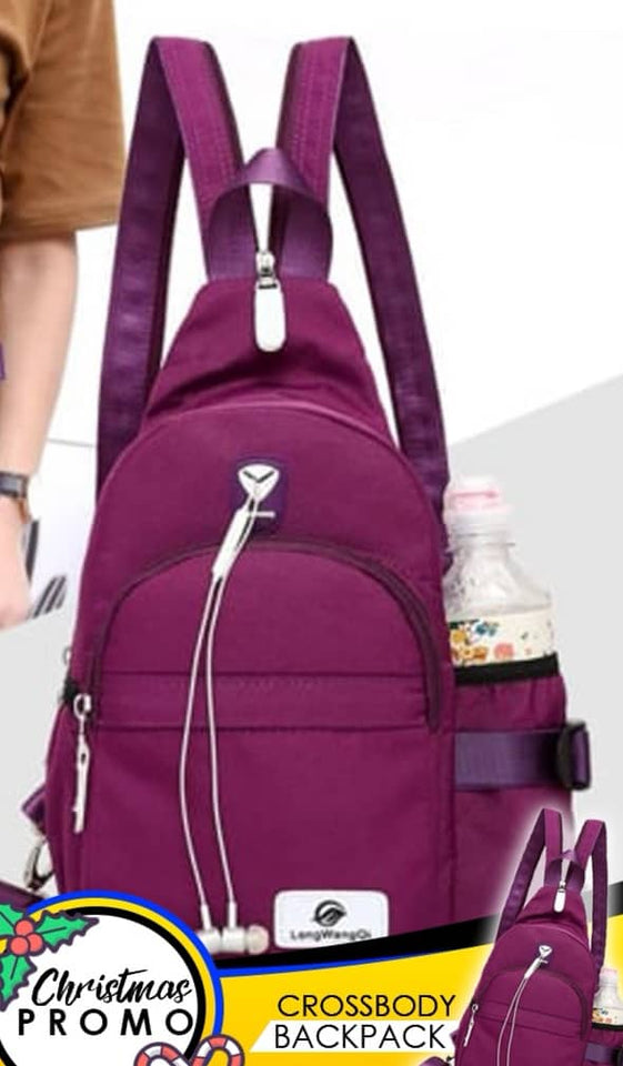 CROSS BODY BACKPACK & BODY BAG - BUY 1 TAKE 1 TODAY!
