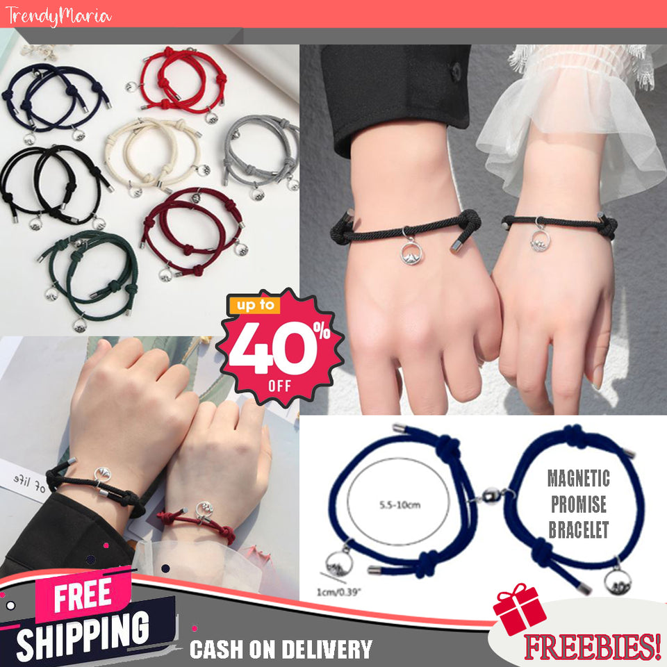MAGNETIC PROMISE BRACELET | FREE SHIPPING AND CASH ON DELIVERY + FREEBIES!!