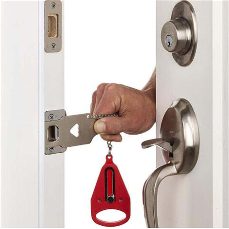 PORTABLE DOOR LOCK!- 50% OFF!- FREE SHIPPING+CASH ON DELIVERY!
