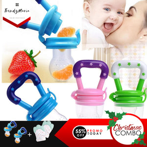 1 PAIR TEETHING MITTEN PLUS 2 PCS PACIFIER