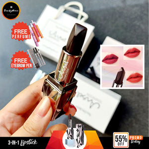 55% OFF- 3 COLOR IN 1 LIPSTICK| FREE SHIPPING & CASH ON DELIVERY + FREE GIFTS!
