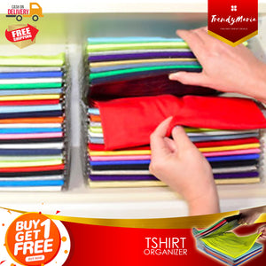 T-SHIRT ORGANIZER!- BUY 1 TAKE 1!- FREE DELIVERY & CASH ON DELIVERY!