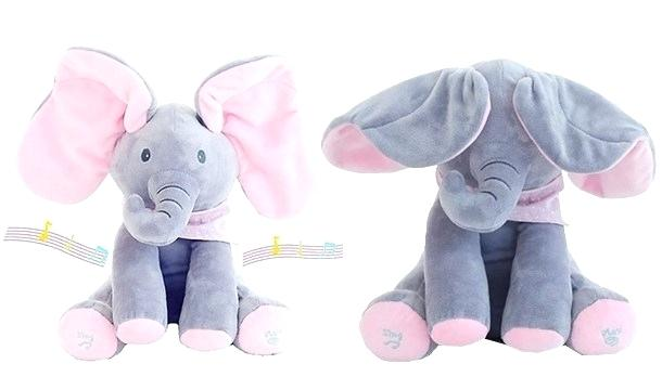 Peek A Boo Elephant - 60% OFF TODAY!