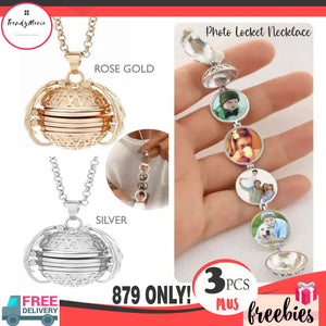 PERFECT GIFT-EXPANDING PHOTO LOCKET-BUY 1 TAKE 2! FREE SHIPPING & CASH ON DELIVERY