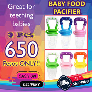 Baby Solid Food Pacifier- Buy 1 take 2 for FREE!