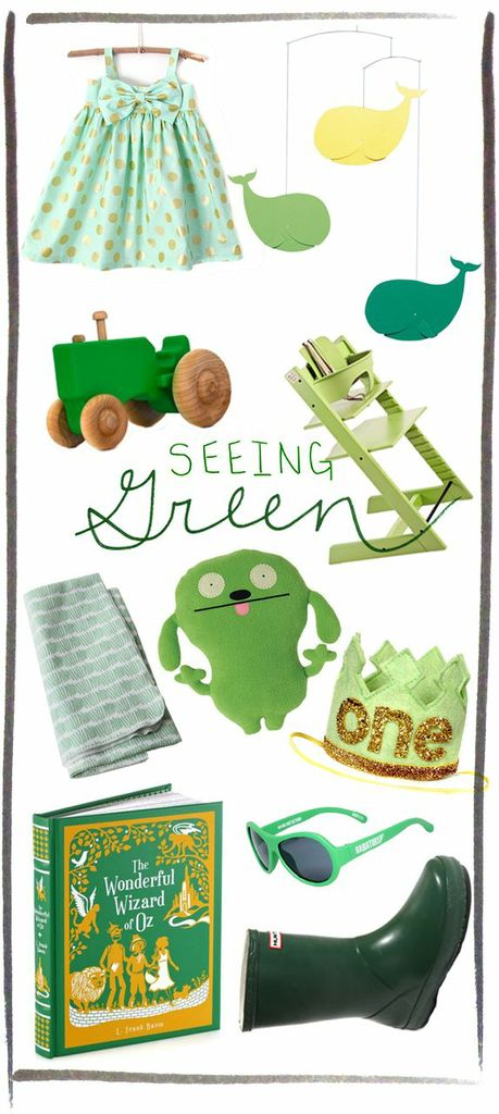 seeing green - kids clothes