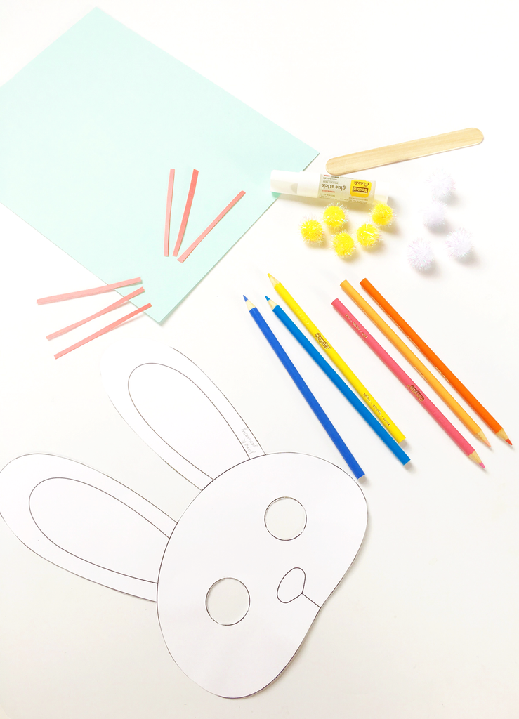 Bunny Mask Free Printable | June & January