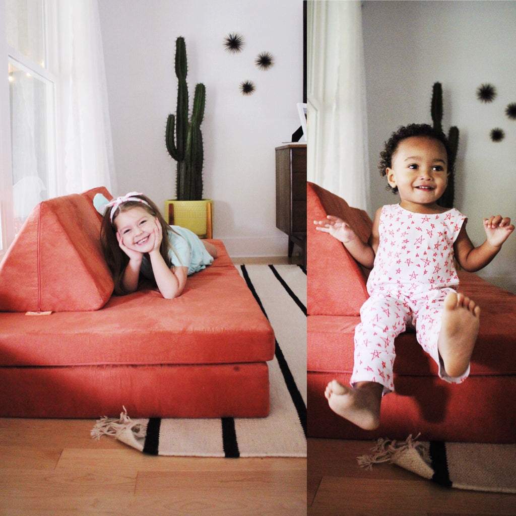 NUGGET LIVING ROOM TO PLAYROOM - June & January