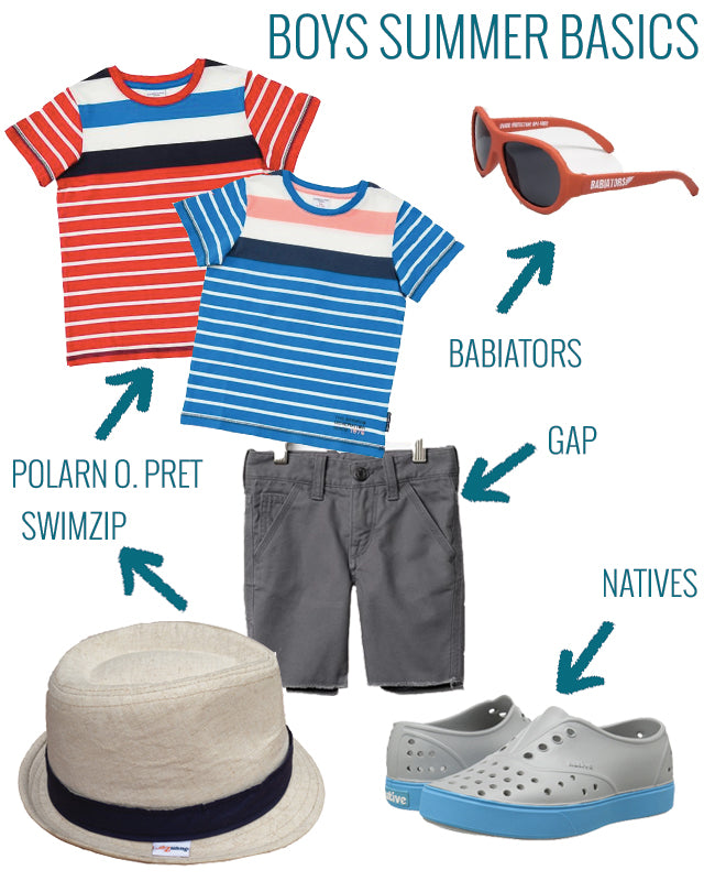 boys summer basics
