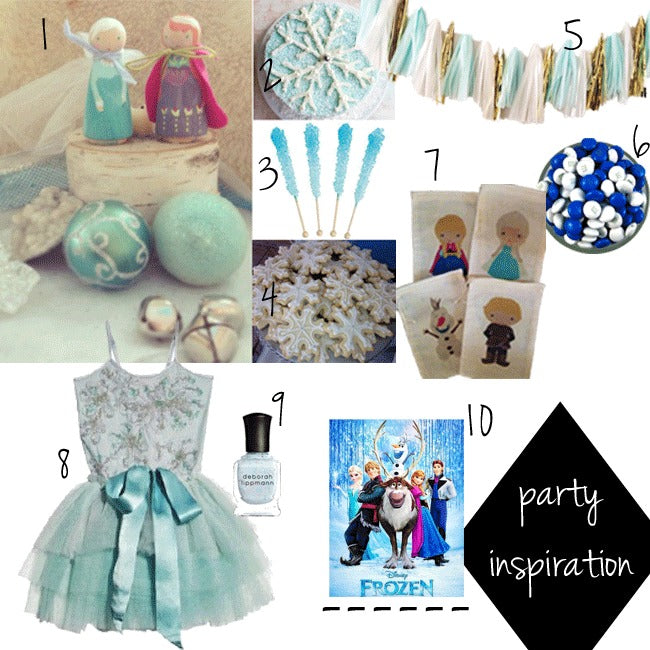 Birthday Party: Frozen Inspired!