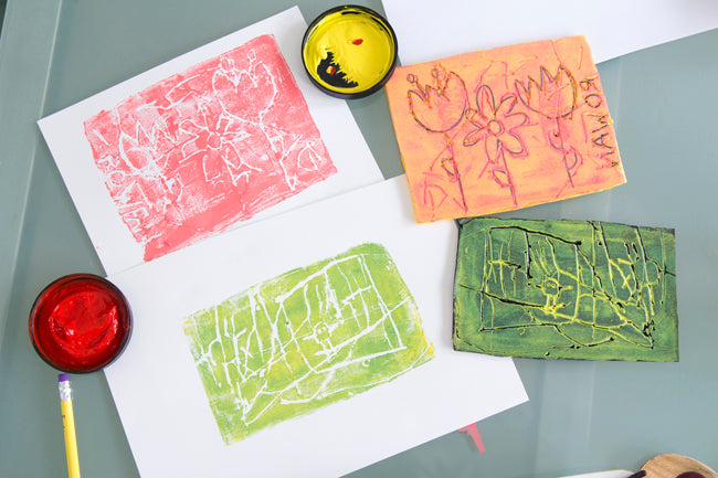 Printmaking for Spring