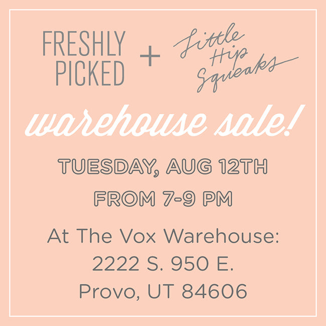 warehouse clothing sale