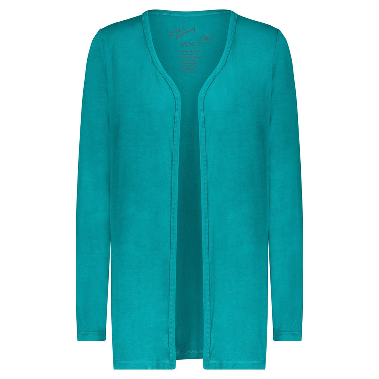 PEACOCK GROWN UP CARDIGAN