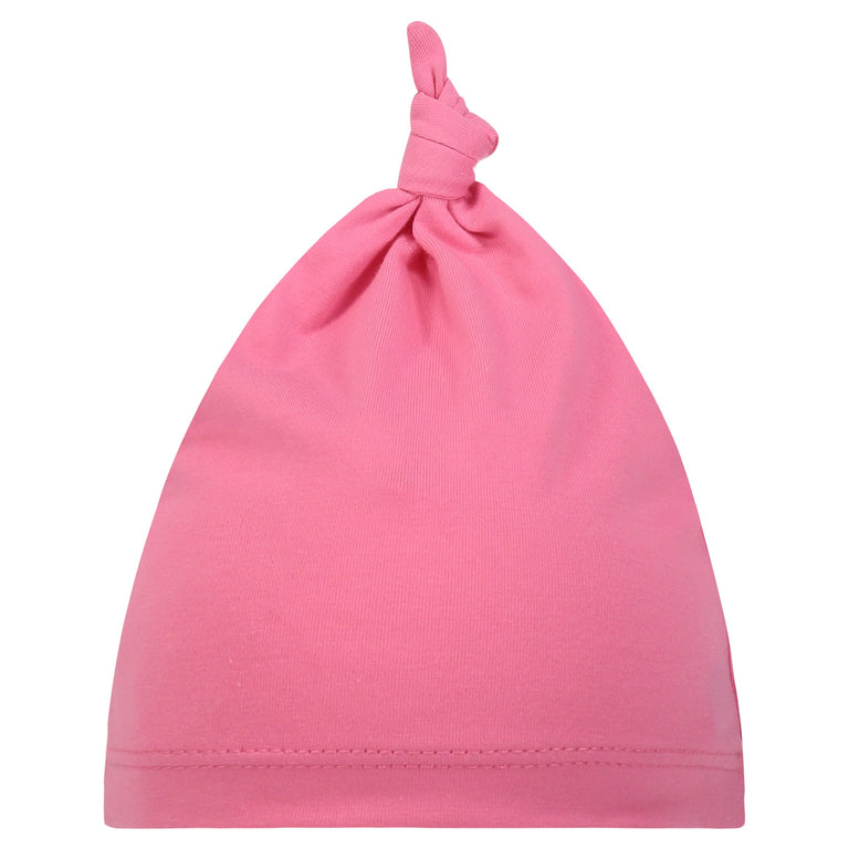 BUBBLEGUM BABY KNOTTED HAT