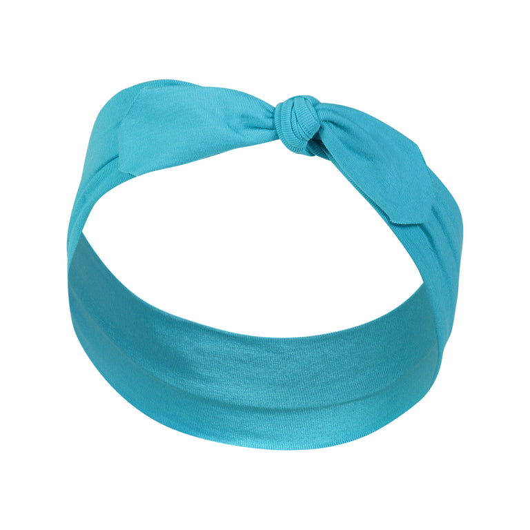 TEAL KNOTTED HEADBAND