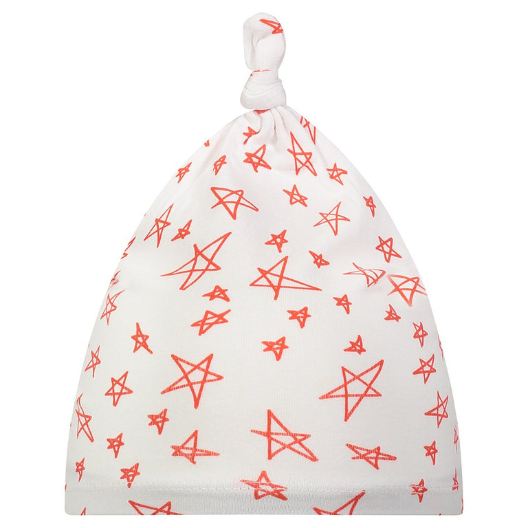 POPPY STAR BABY KNOTTED HAT