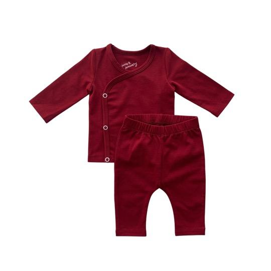 Cranberry New Baby Coming Home Set