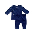 Thumbnail for the new baby coming home set in navy