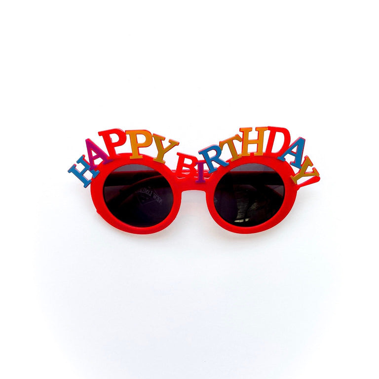POPPY HAPPY BIRTHDAY SUNGLASSES