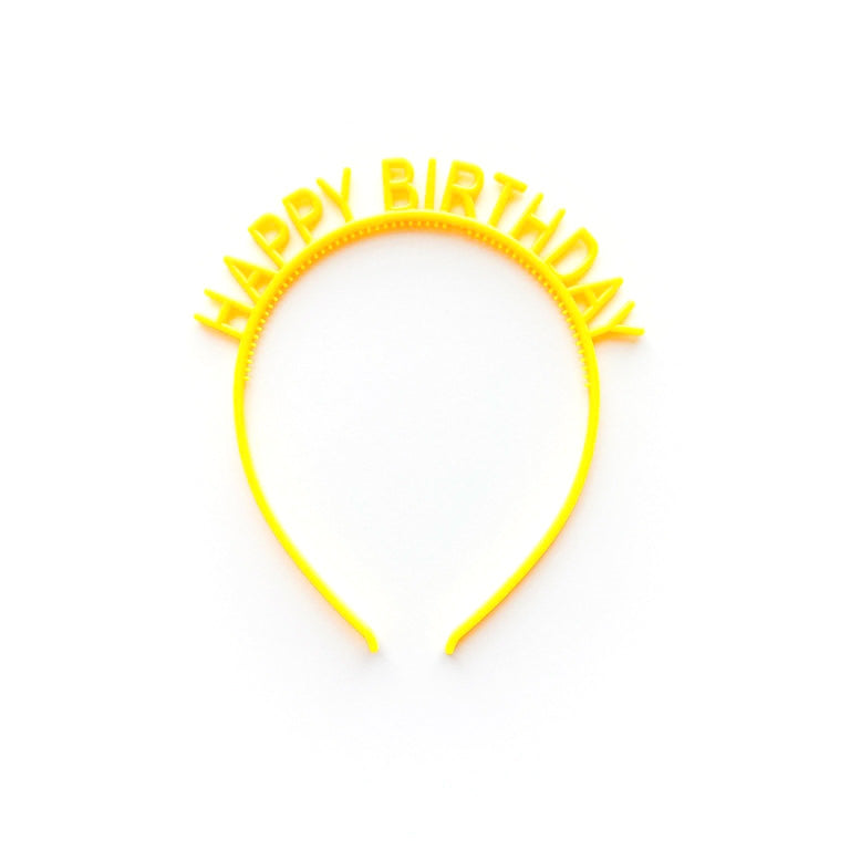 LEMON HAPPY BIRTHDAY HEADBAND