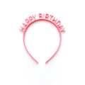 Thumbnail for bubblegum happy birthday headband