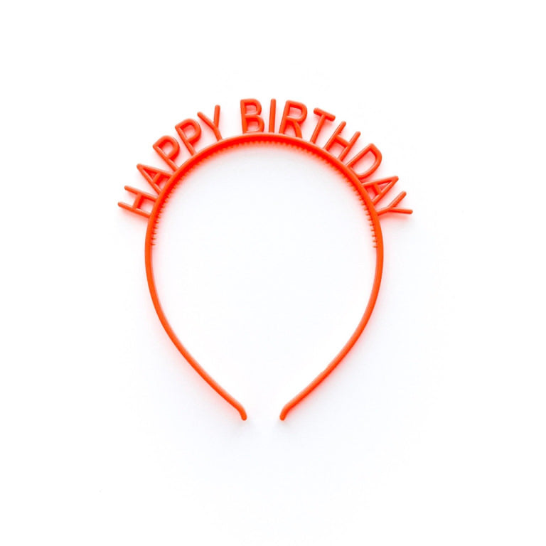 POPPY HAPPY BIRTHDAY HEADBAND