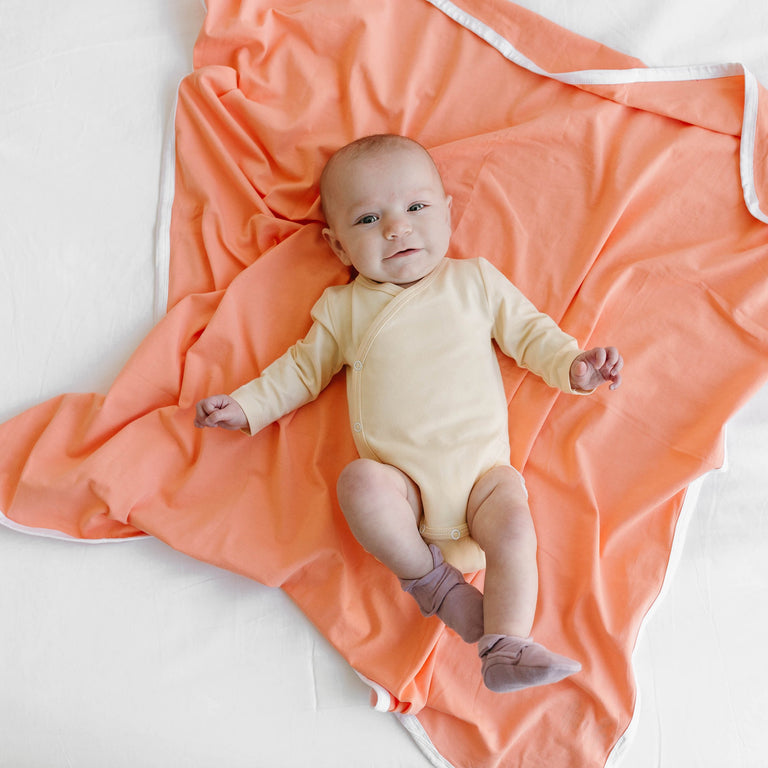 Grapefruit Basic Blanket