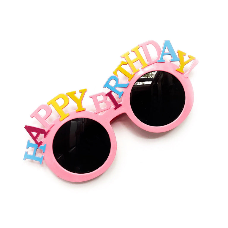 BUBBLEGUM  HAPPY BIRTHDAY SUNGLASSES