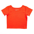 Thumbnail for poppy short sleeve ballet top with scoop neck
