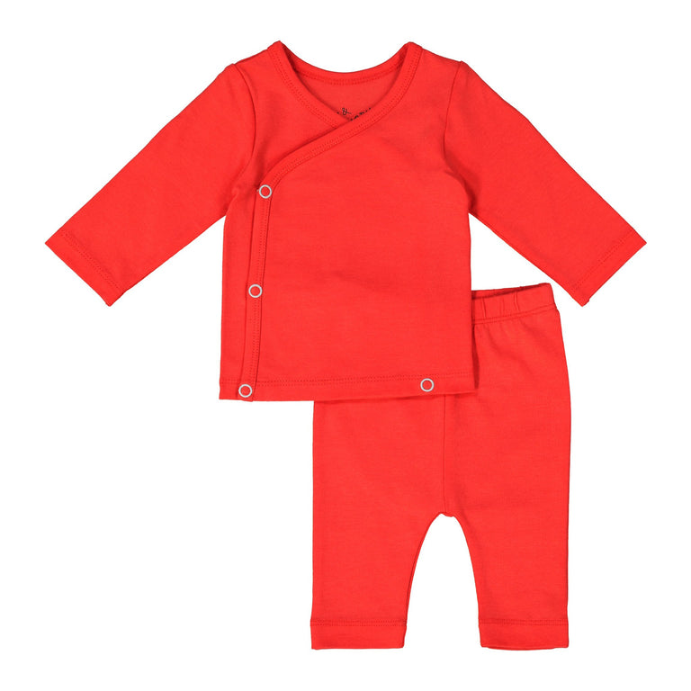 POPPY COMING HOME SET, SNAP TOP WITH MATCHING CROPPED LEGGING