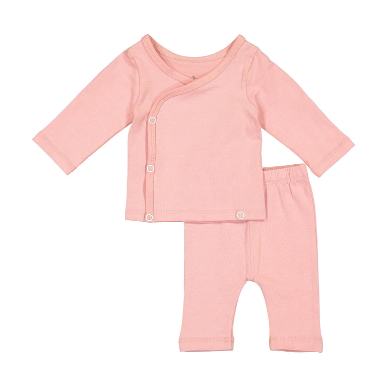 ROSE COMING HOME SET, SNAP TOP WITH MATCHING CROPPED LEGGING
