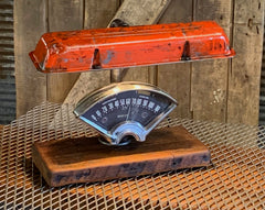 Steampunk Industrial / Antique 1956 Chevy Bel Air Dash / Automotive  / Valve Cover / Hot rod / Lamp #2652