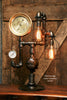 Steampunk Industrial Lamp / Steam Gauge / Gear /  #1245 sold