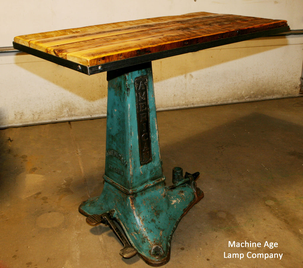 Industrial Antique Pub Table - SOLD