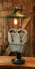 Steampunk, Industrial, Vintage Parking Meter Lamp - #782 sold