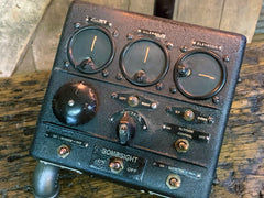 Steampunk c1943 US Army Air Force Bomber Autopilot Box, Aviation, Military #2813 sold
