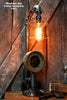 steampunk Lamp, By Machine Age Lamps, Steam Gauge, Gear, Industrial #121