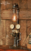 Steampunk, Industrial Brass Regulator Lamp, #744 - SOLD
