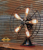 Steampunk Industrial / Antique Emerson Fan Lamp / Lamp #1868 - SOLD