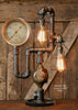 Steampunk Industrial Lamp / Gear / Steam Gauge / - #1402 sold