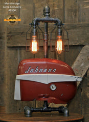 Steampunk Industrial / Boat Motor / Nautical / Marine / Cabin / Lamp #1806 sold