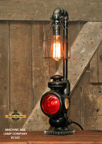 Steampunk Industrial / Antique Ford Model T Taillight / Lamp #2162