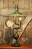Steampunk Industrial, Shade and Steam Gauge #974 - SOLD