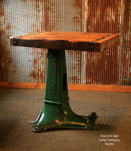 Steampunk Industrial Table / Pub / Stand / Console / Coffee / #1293