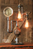 Steampunk Industrial Steam Gauge Lamp #885 -  SOLD
