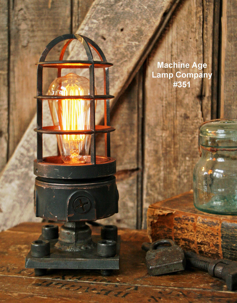 Steampunk Industrial Lamp, Lighthouse Explosion Proof Light #351
