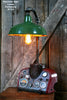 Steampunk Lamp, Farmall Tractor Dash, Farm Industrial - #132 - SOLD